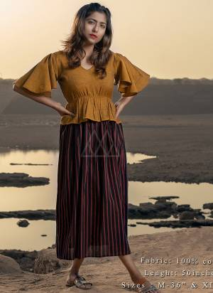 Lovely Patterned long maxi casual dress has peplum yoke and straight silhouttee.  circular bias sleeves and straight lining?deep red flair.  khadi is a fabric that will keep you cool in summers and warm in winters.  So this dress suits to wear in all seasons.party and casual