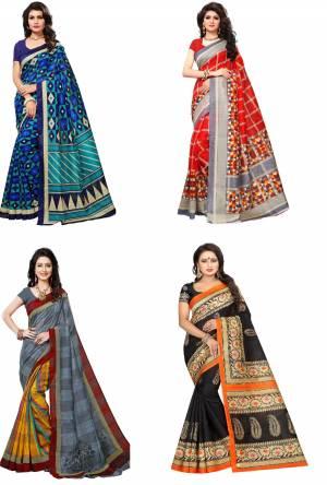 Combo Pack Of 4 Saree