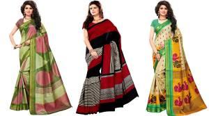 Combo Pack Of 3 Saree