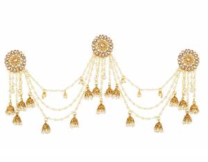 With Deep Necklines And High Bun Hairdo. This Earring Is Perfectly Flaunted With Both Of Them. Grab This Lovely Earring And Earn Lots Of Compliments From Onlookers.