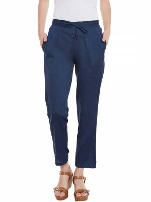 Grab This Pant For Your Casual Or Offiice Wear. This Pretty Free Sized Pant Is Fabricated On Rayon. Its Fabric Is Light In Weight And Easy To Carry All Day Long.