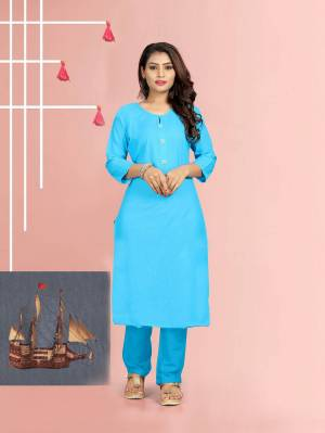 Beat The Heat This Summer With Some Casuals Like These Readymade Kurti Fabricated On Cotton. This Pretty Kurtis Are Available In All Regular Sizes Which Also Ensures Superb Comfort All Day Long.