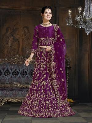 Shine Bright In This Attractive Looking Heavy Designer Lehenga Choli In Royal Blue Color. Its Blouse And Lehenga Are Satin Based Paired With Net Fabricated Dupatta. It Is Beautified With Heavy Coding And Stone Work. Buy Now.