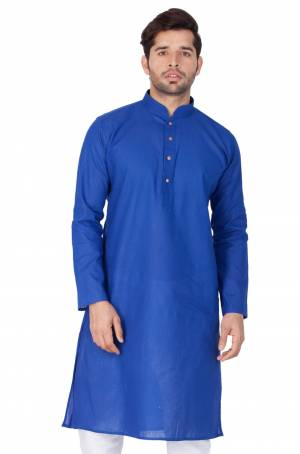 Grab This Amazing Readymade Kurtas For Men Fabricated On Linen.?This Kurta Is Suitable For Festive Wear Or Any Wedding Functions. It Is Light In Weight and Can Be Paired With Any Kind Of Bottom Like Chudidar, Pyjama Or Even Denims. Its Fabric Is Soft Towards Skin And Avialable In All Sizes. Buy Now.
