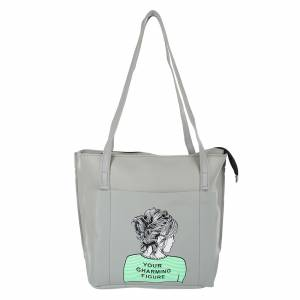 Grab This Pretty Elegant Looking Tote Bag For Your Daily Use. This Bag Is Durable And Easy To Carry All Day Long.
