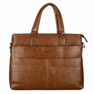 Here Is Smart Corporate Hand Bag For Men. This Bag Is Light In Weight And Can Be Used In Multipurpose Ways.