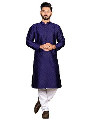 Grab This Amazing Pair Of Kurta And Chudidar For Men Fabricated On Art Silk And Cotton Respectively. This Kurta Is Suitable For Festive Wear Or Any Wedding Functions. It Is Light In Weight and Can Be Paired With Any Kind Of Bottom Like Chudidar, Pyjama Or Even Denims. Its Fabric Is Soft Towards Skin And Avialable In All Sizes. Buy Now.