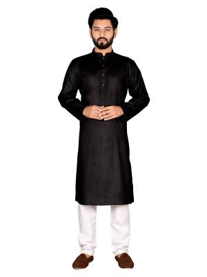 Grab This Amazing Pair Of Kurta And Chudidar For Men Fabricated On Cotton. This Kurta Is Suitable For Festive Wear Or Any Wedding Functions. It Is Light In Weight and Can Be Paired With Any Kind Of Bottom Like Chudidar, Pyjama Or Even Denims. Its Fabric Is Soft Towards Skin And Avialable In All Sizes. Buy Now.