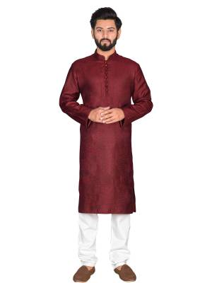 Grab This Amazing Pair Of Kurta And Chudidar For Men Fabricated On Khadi And Cotton Respectively. This Kurta Is Suitable For Festive Wear Or Any Wedding Functions. It Is Light In Weight and Can Be Paired With Any Kind Of Bottom Like Chudidar, Pyjama Or Even Denims. Its Fabric Is Soft Towards Skin And Avialable In All Sizes. Buy Now.