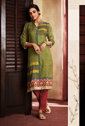 Beat The Heat This Summer With This Super Cool Digital Printed Readymade Straight Kurti Fabricated on Soft Silk. Its Fabric Ensures Superb Comfort And Also It Is Durable And Easy To Care For. Buy Now.