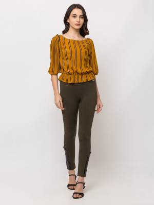 Grab This Beautiful Western Top For Your Semi-Casuals. This Pretty Top Can Be Paired With Denims, Pants Or Jeggins. Also It Is Available In All Regular Sizes. Buy Now.