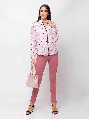 Grab This Beautiful Western Top For Your Semi-Casuals. This Pretty Top Can Be Paired With Denims, Pants Or Jeggins. Also It Is Available In All Regular Sizes. Buy Now