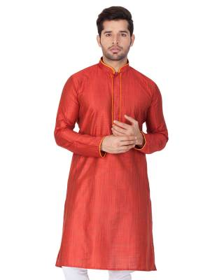 Grab This Amazing Pair Of Kurta And Chudidar For Men Fabricated On Cotton Silk And Cotton Respectively. This Kurta Is Suitable For Festive Wear Or Any Wedding Functions. It Is Light In Weight and Can Be Paired With Any Kind Of Bottom Like Chudidar, Pyjama Or Even Denims. Its Fabric Is Soft Towards Skin And Avialable In All Sizes. Buy Now.