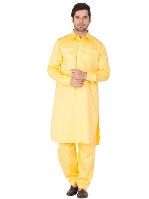 Grab This Amazing Pair Of Pathani Kurta For Men Fabricated On Cotton Silk And Cotton Respectively. This Kurta Is Suitable For Festive Wear Or Any Wedding Functions. It Is Light In Weight and Can Be Paired With Any Kind Of Bottom Like Chudidar, Pyjama Or Even Denims. Its Fabric Is Soft Towards Skin And Avialable In All Sizes. Buy Now.